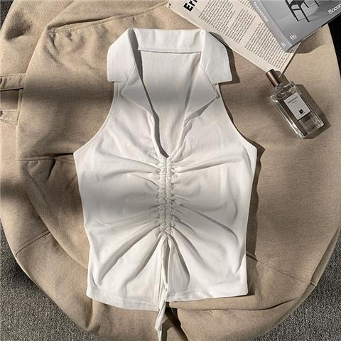 Sexy halter sling, outer wear vest, European and American