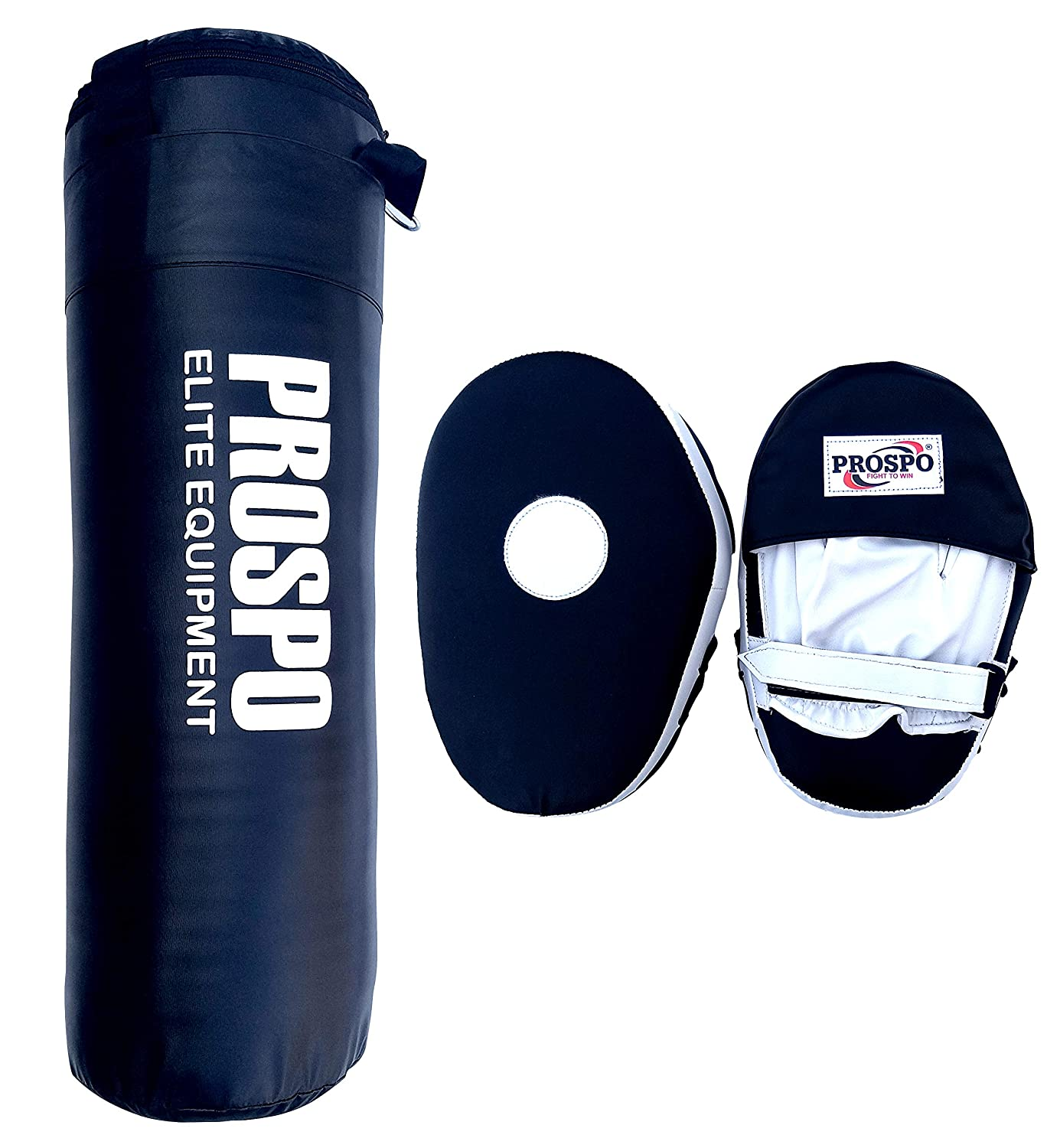 Prospo Punching Bag, Strong SRF Punching Bag with Focus Pad Straight,