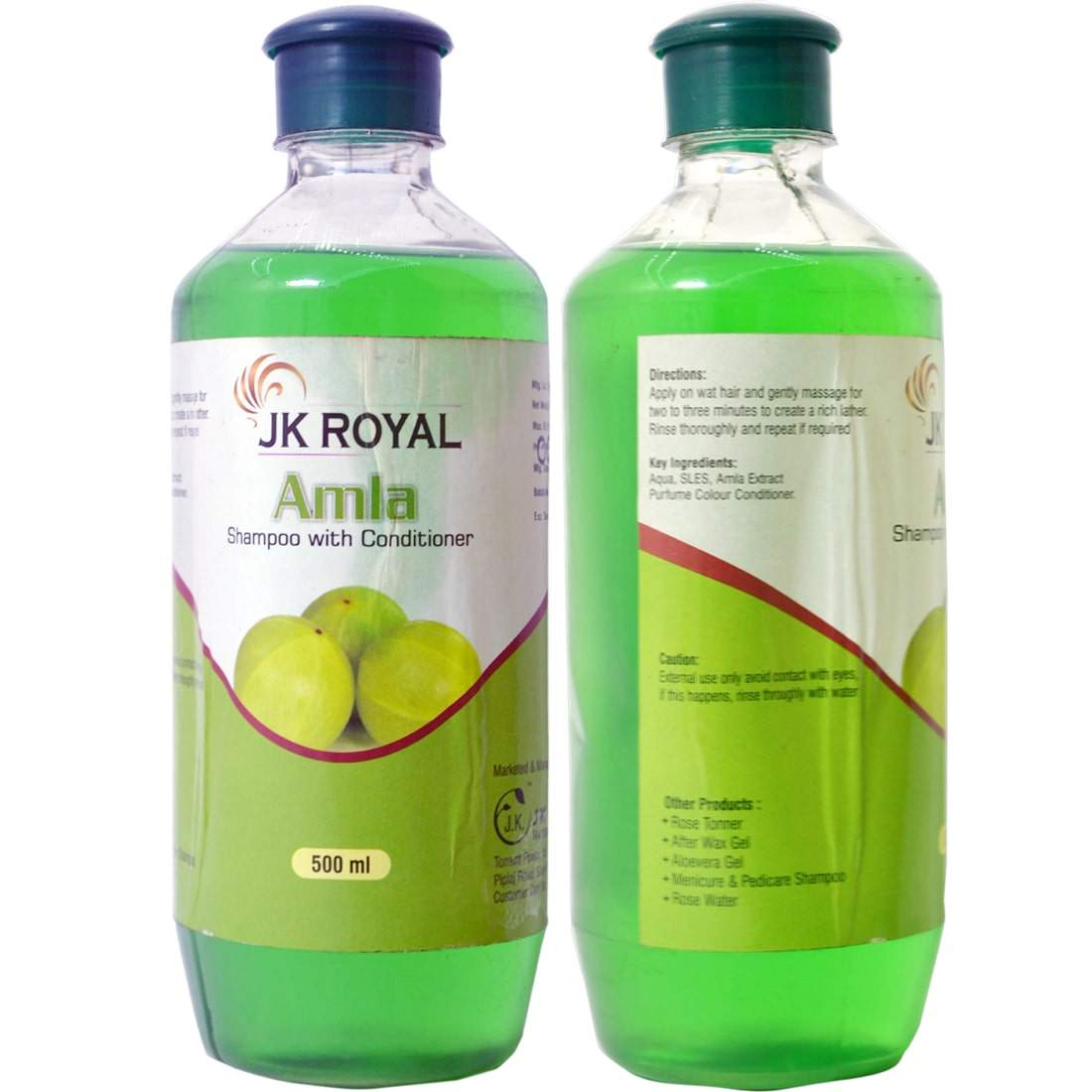 JK Royal Amla Shampoo with Conditioner for Hair 500 ml