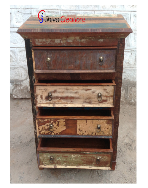 Affordable Reclaimed Recycled Wood Dresser