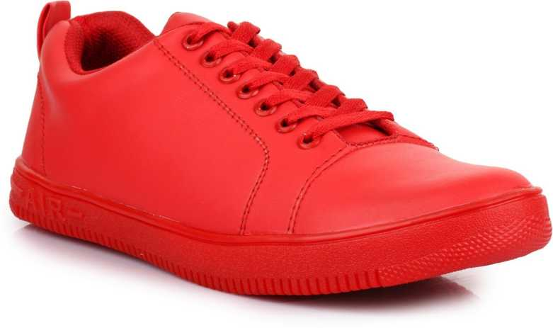 Kvest  Sneakers For Men  (Red)