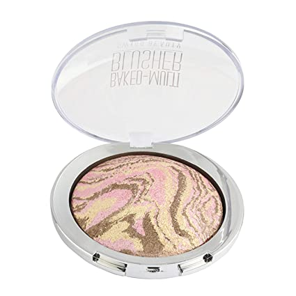 Swiss Beauty Baked Multi Blusher, Face MakeUp, Multicolor-02, 10g