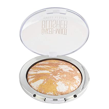 Swiss Beauty Baked Multi Blusher, Face MakeUp, Multicolor-04, 10g