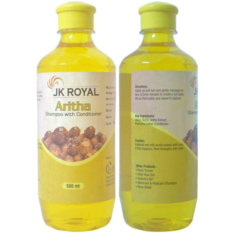 JK Royal Aritha Shampoo with Conditioner for Hair Care 500 ml