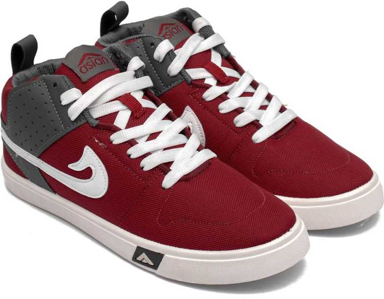 ASIAN  SKYPY-31 Casual & Sports Shoes Sneakers For Men  (Multicolor, Maroon)