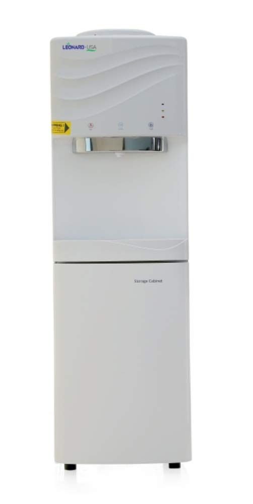 LEONARD USA Hot, Cold and Normal Water Dispenser with Storage Cabinet , Based on American Technology