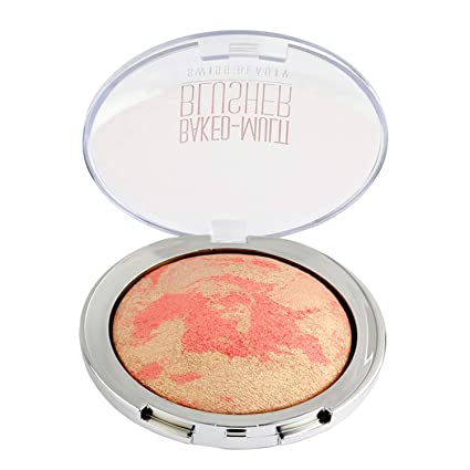Swiss Beauty Baked Multi Blusher, Face MakeUp, Multicolor-08, 10g